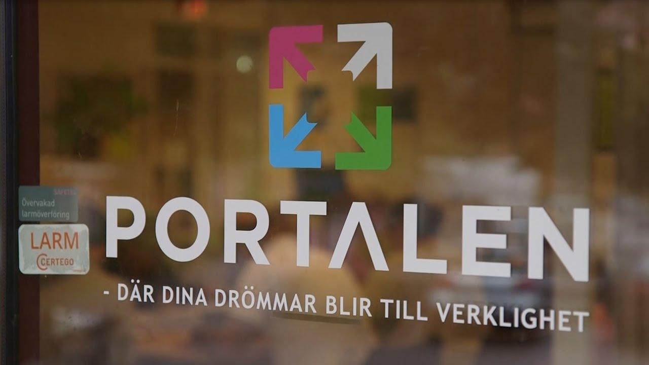 portalen norrköping entré